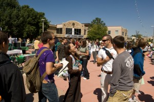 Student Involvement Day on the Plaza, September 3, 2008