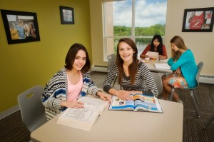 Dormitory Interior Study Lounge 2015