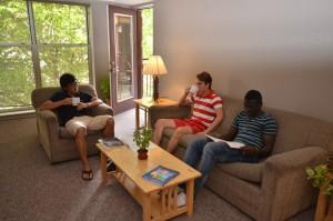 living room at RH